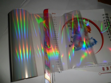 UV  holograpic transparent transfer film