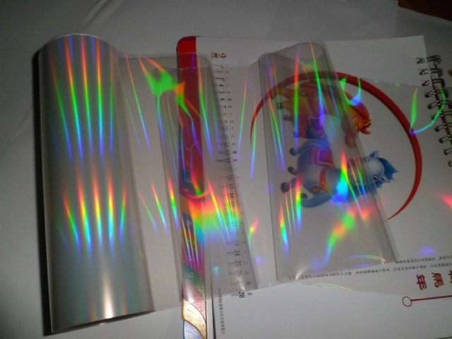 Leading Bopp Seamless Rainbow Holographic Transparent Film